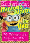 Kinderfasnet 2017 im HdB Minions Alarm