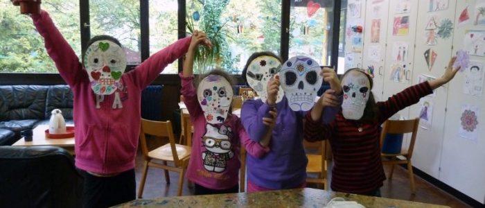 Maskenkinder