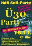 Ü30 Party Plakat 2017