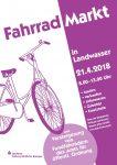 Plakat Fahrradmarkt 2018
