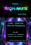 Neon Party für Teens 2018