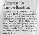 Kinderfasnet Hexentanz BZ - 19.2.2009