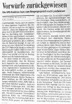Kritik am Sparkurs II BZ - 12.3.2008