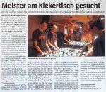 Südbadische Soccermeisterschaft Freiburger Wochenbericht 26.11.2008
