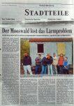 Der Mooswald loest das Laermproblem - BZ 11.10.2002