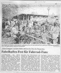 Fabelhaftes Fest für Fahrrad-Fans - Badische Zeitung 27.4.1998