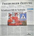 In Landwasser fehlt der Nachwuchs - Badische Zeitung 26.10.1998