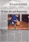 Viel Aerger, aber auch Begeisterung - BZ 7.12.2002