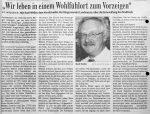 Wir leben in einem Wohlfuehlort zum Vorzeigen - Badische Zeitung 14.8.1999