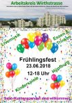 Plakat Frühlingsfest 2018