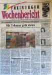 20. Geburtstag Haus der Begegnung - Wochenbericht 9.12.1992