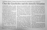 Historische Reise fuer Jugendliche - Badische Zeitung 12.5.1993