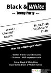 Teeny Party Black & White 2018