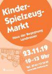 Kinderspielzeugmarkt 2019 Haus der Begegnung
