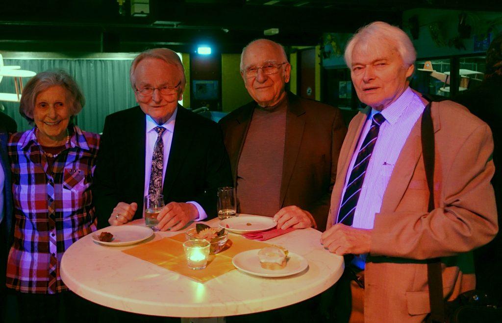 Frau Neff, Herr Lukas, Herr Haas, Herr Krebser - Gründungsmitglieder