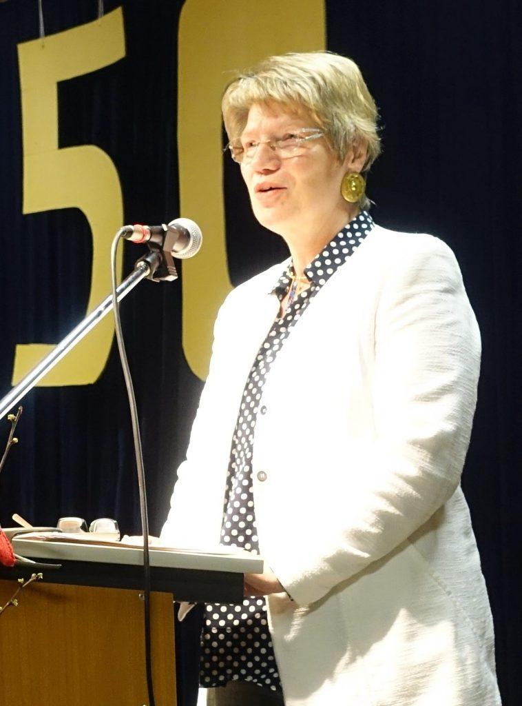 Grußwort von Frau Kreft für die Stadt Freiburg