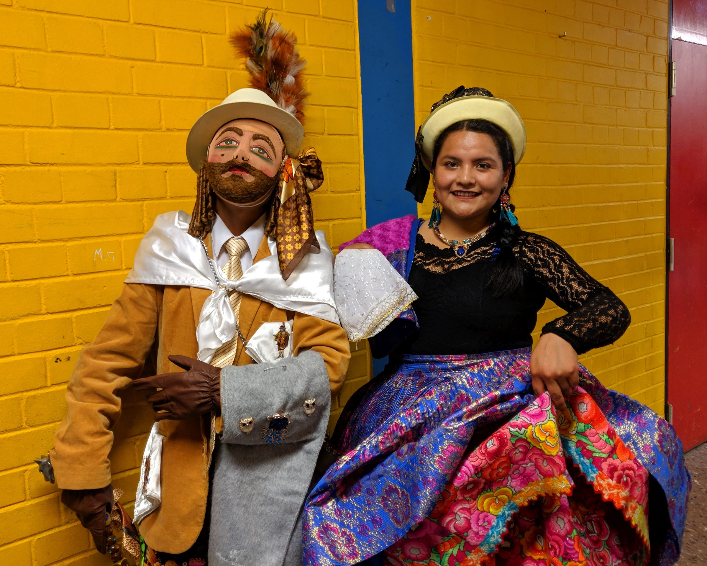 Tanz-Kostüme aus Huancayo