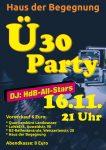 Ü30 Party 2019 Plakat