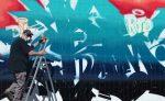 Foto vom EKZ Landwasser Freiburg Graffity-Jam