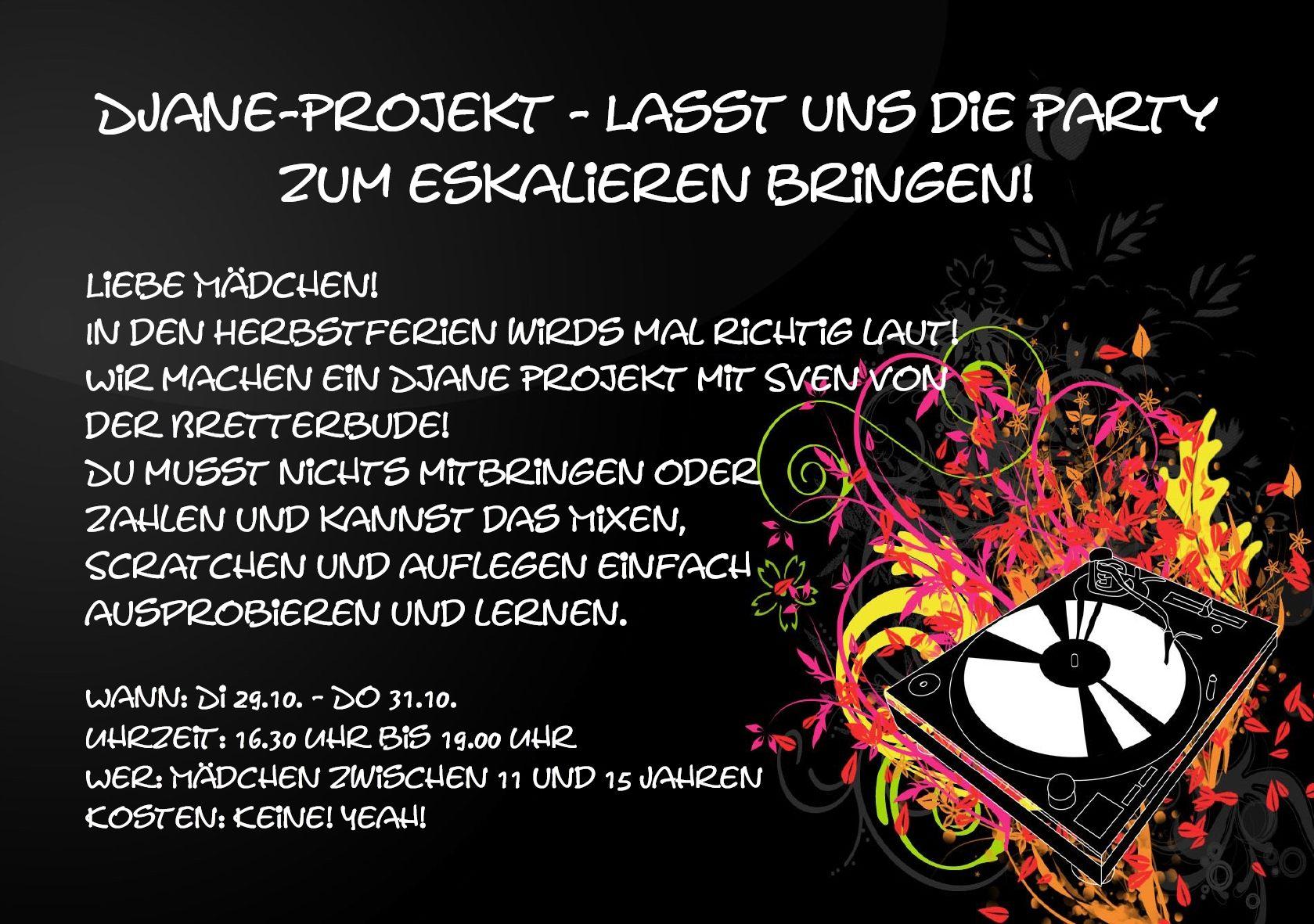 DJane Projekt 2019