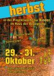 Herbstferien-Projekt für Kinder- herbstliches
