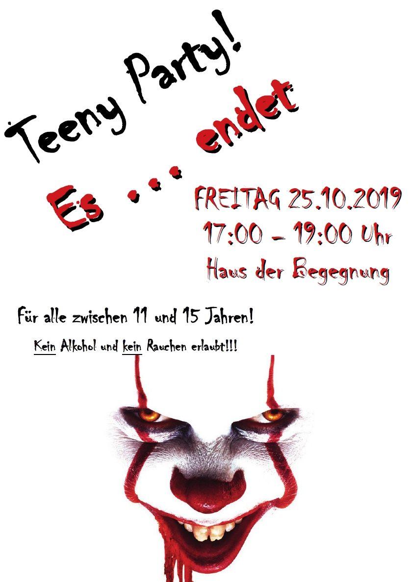 Teenie-Party Herbst 2019