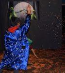 Romulo bei der Konfetti-Schlacht auf der Kinderfasnet 2020 im HdB