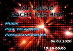 Plakat Lange Nacht 2020 März