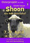 Shoon das Schaf - das Plakat unserer Kinder-Osterprojektwoche