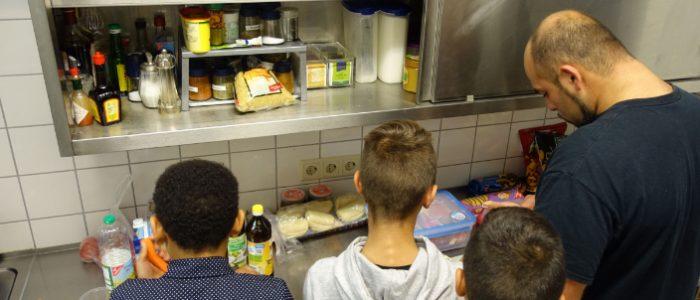 Kochen mit Jungs