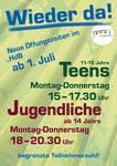 Plakat wieder da - Teens Jugend