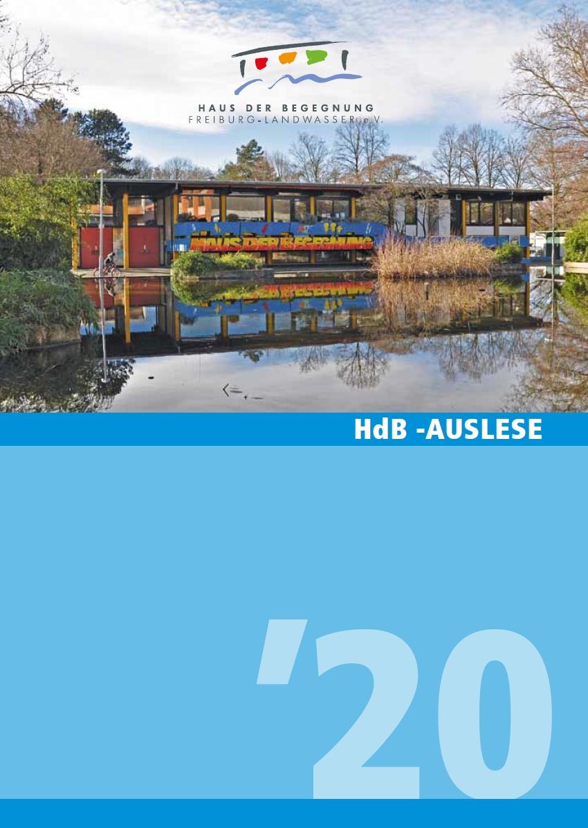 HdB Auslese 2020 Cover
